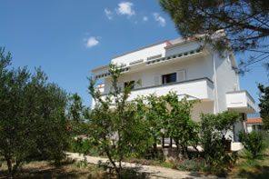 Accommodation in Novalja