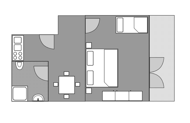 Ground-plan of the apartment - 2 - Typ/2
