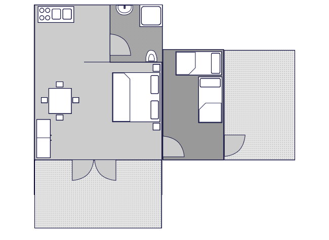 Ground-plan of the apartment - 4 - Typ/2