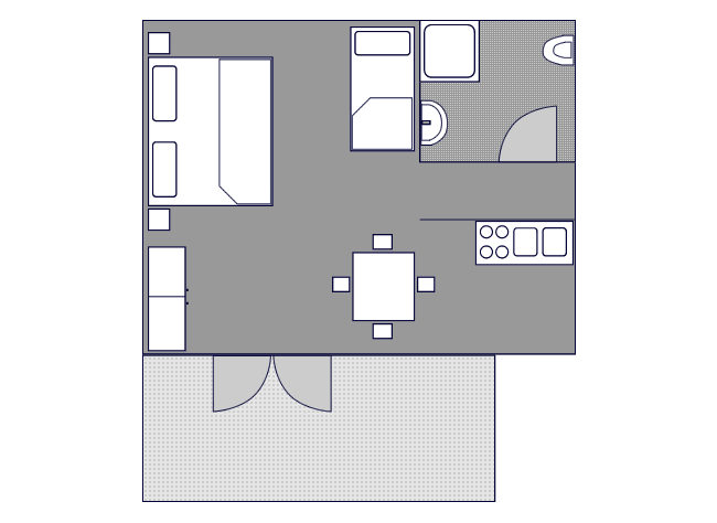 Ground-plan of the apartment - 5 - Typ/2