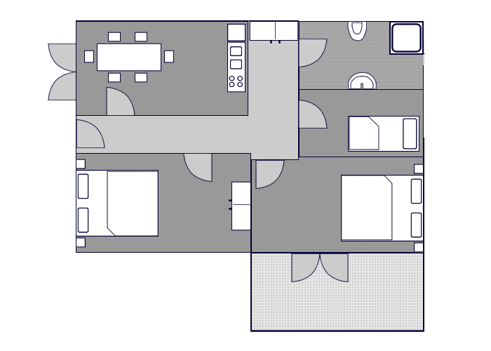 Ground-plan of the apartment - 6 - Typ/5